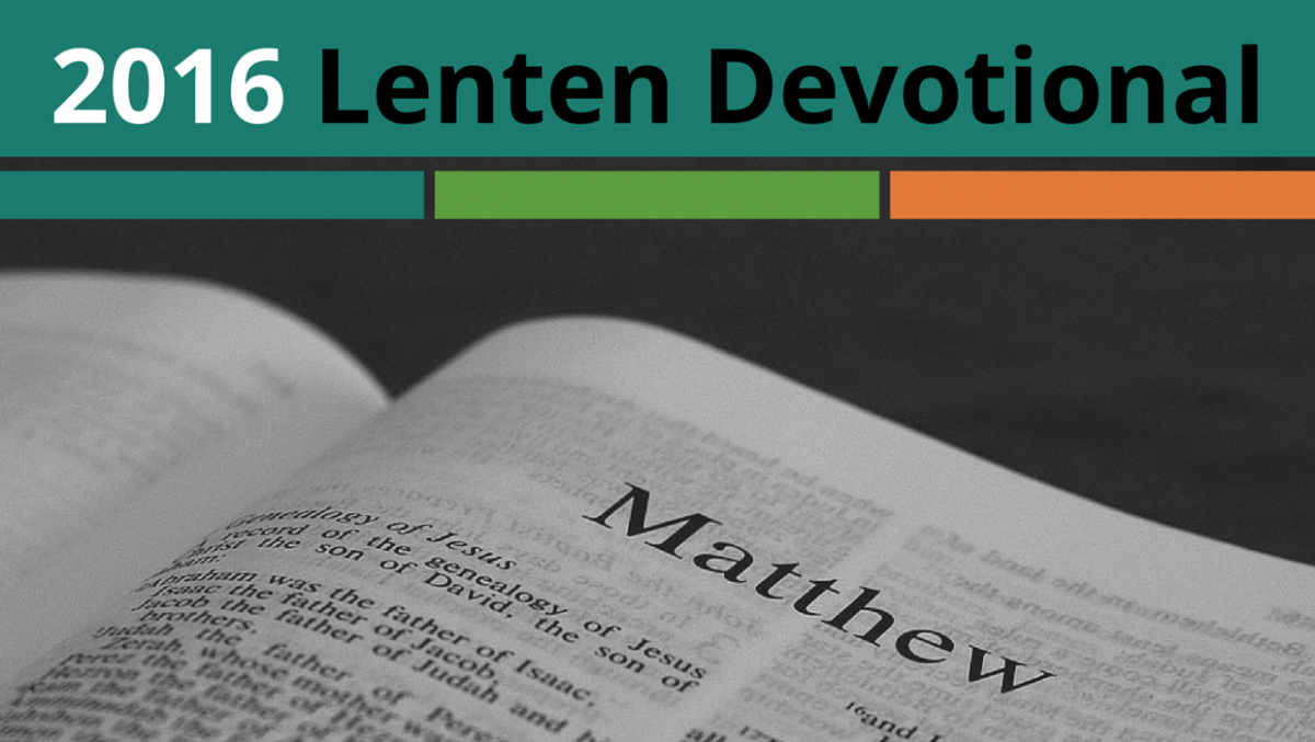 Napa Methodist Church 2016 Lenten Devotional