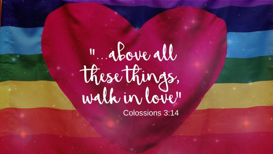 Napa Methodist Church Colossians 3:14 Quote