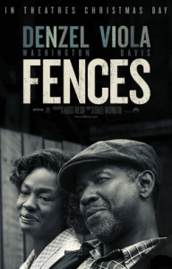 Official Movie Poster for Fences