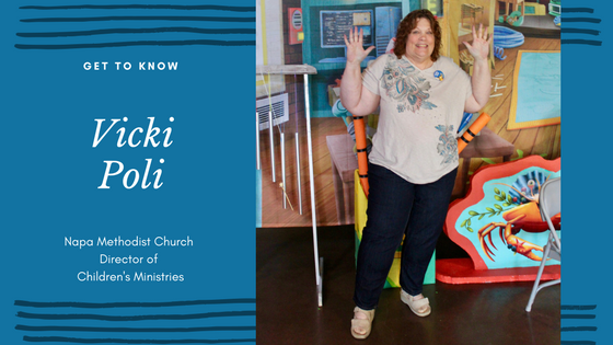 Napa Methodist Church Staff and Leadership Spotlight on Director of Children's Ministries Vicki Poli