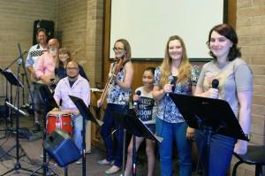 Napa Methodist Church Fusion Worship Team