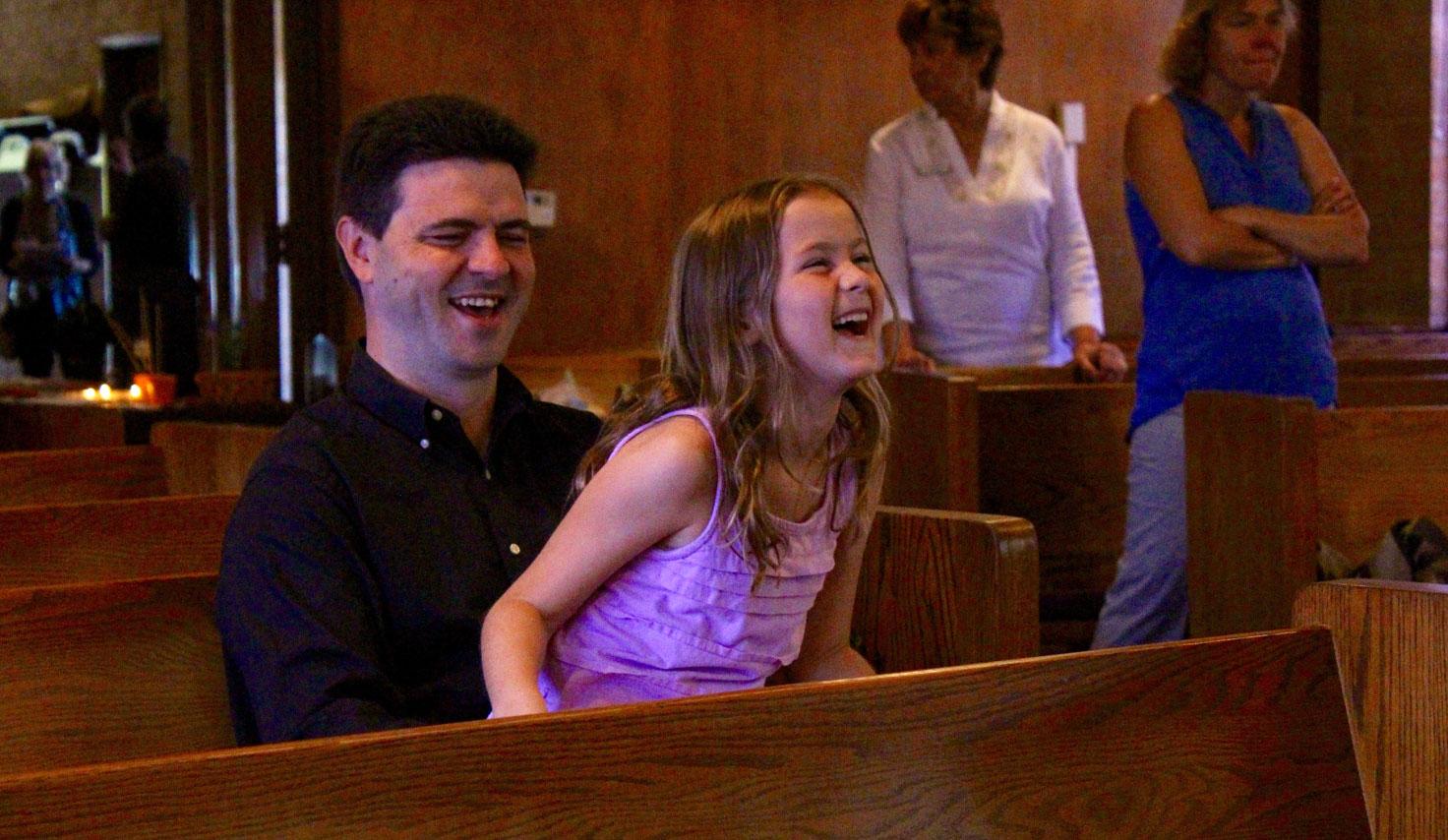 Napa Methodist Church Fusion worship with Austin and Mira Eikenberry