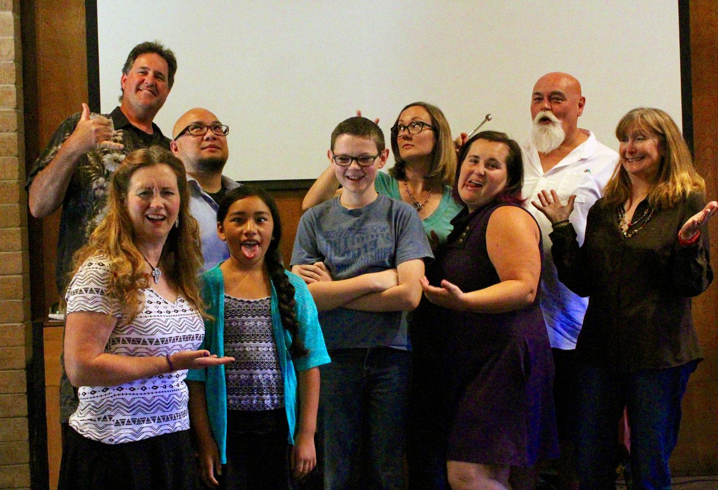 Napa Methodist Church Fusion Worship team at play