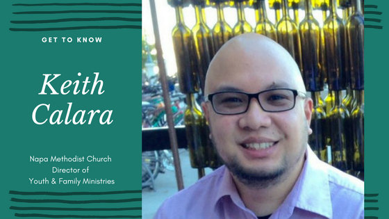 Napa Methodist Church Staff and Leadership Spotlight on Director of Youth & Family Ministries Keith Calara