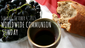 Napa Methodist Church World Communion Sunday