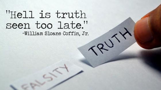 William Sloane Coffin, Jr. Truth Quote