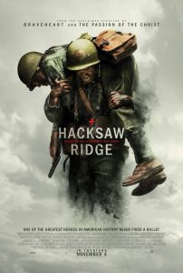 Official Movie Poster for Hacksaw Ridge