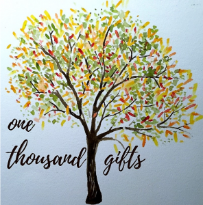 One Thousand Gifts: The Journey from Gratitude to Joy